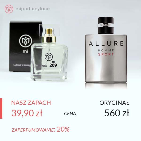 miperfumylane.pl - zamiennik perfum man no. 209