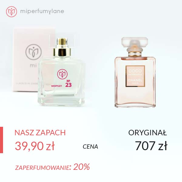 miperfumylane.pl - zamiennik perfum women no. 23