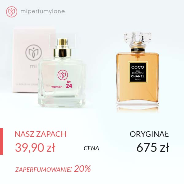 miperfumylane.pl - zamiennik perfum women no. 24