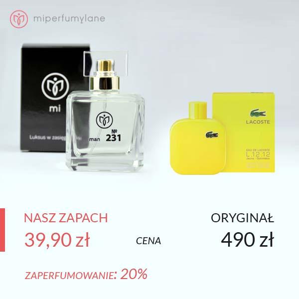 miperfumylane.pl - zamiennik perfum men no. 231
