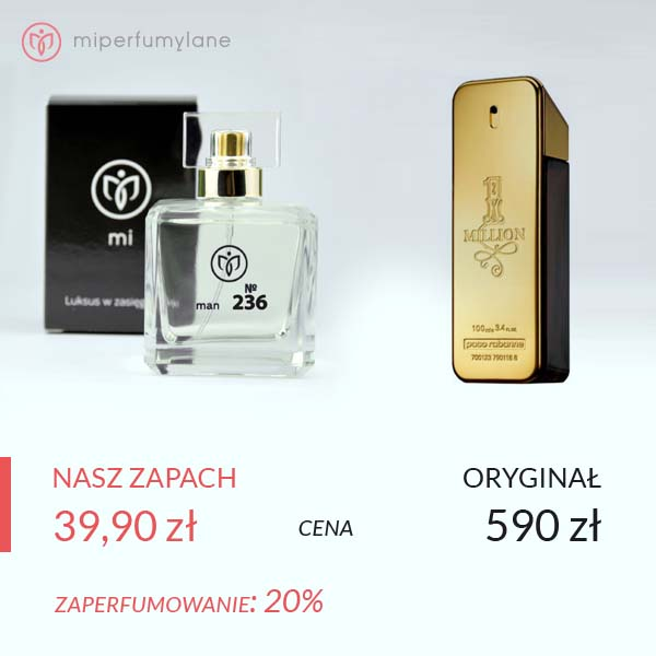 miperfumylane.pl - zamiennik perfum men no. 236