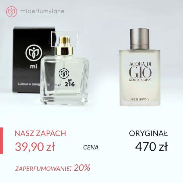 miperfumylane.pl - zamiennik perfum man no. 216