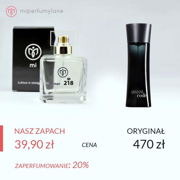 miperfumylane.pl - zamiennik perfum man no. 218