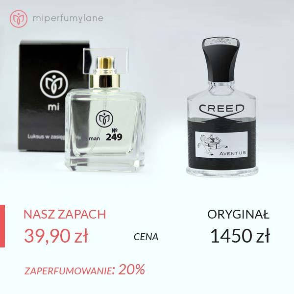 Zaperfumowanie Creed - Aventus - miperfumylane.pl