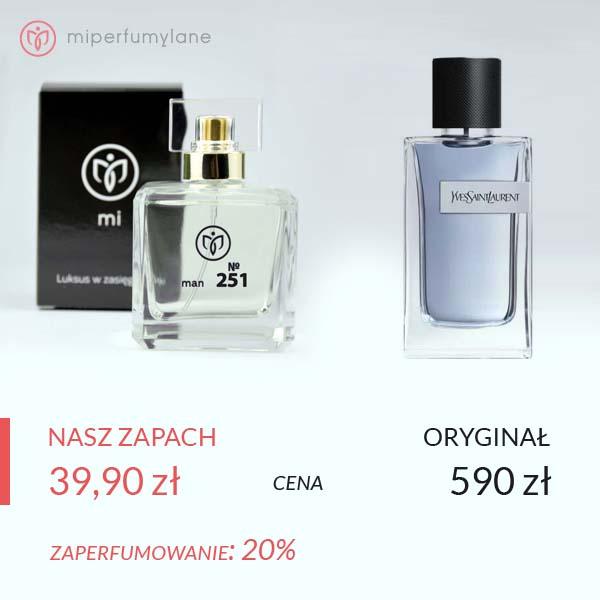 Zaperfumowanie Yves Saint Laurent - Y - miperfumylane.pl